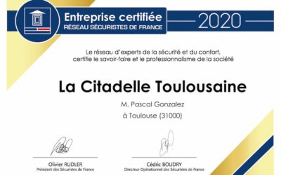 Certification 2020 Sécuristes de France
