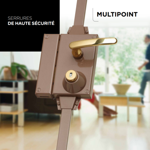 Serrure multipoint Point Fort Fichet