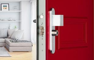 Portes blindées pour appartement