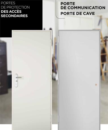 Portes de cave et de communication Point Fort Fichet
