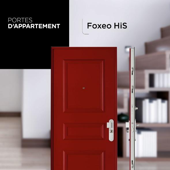 Porte blindée D'appartement Point Fort Fichet Foxeo HiS