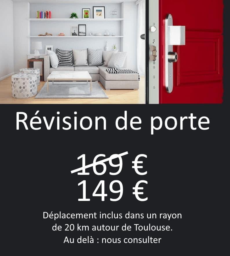 Révision de porte à Toulouse